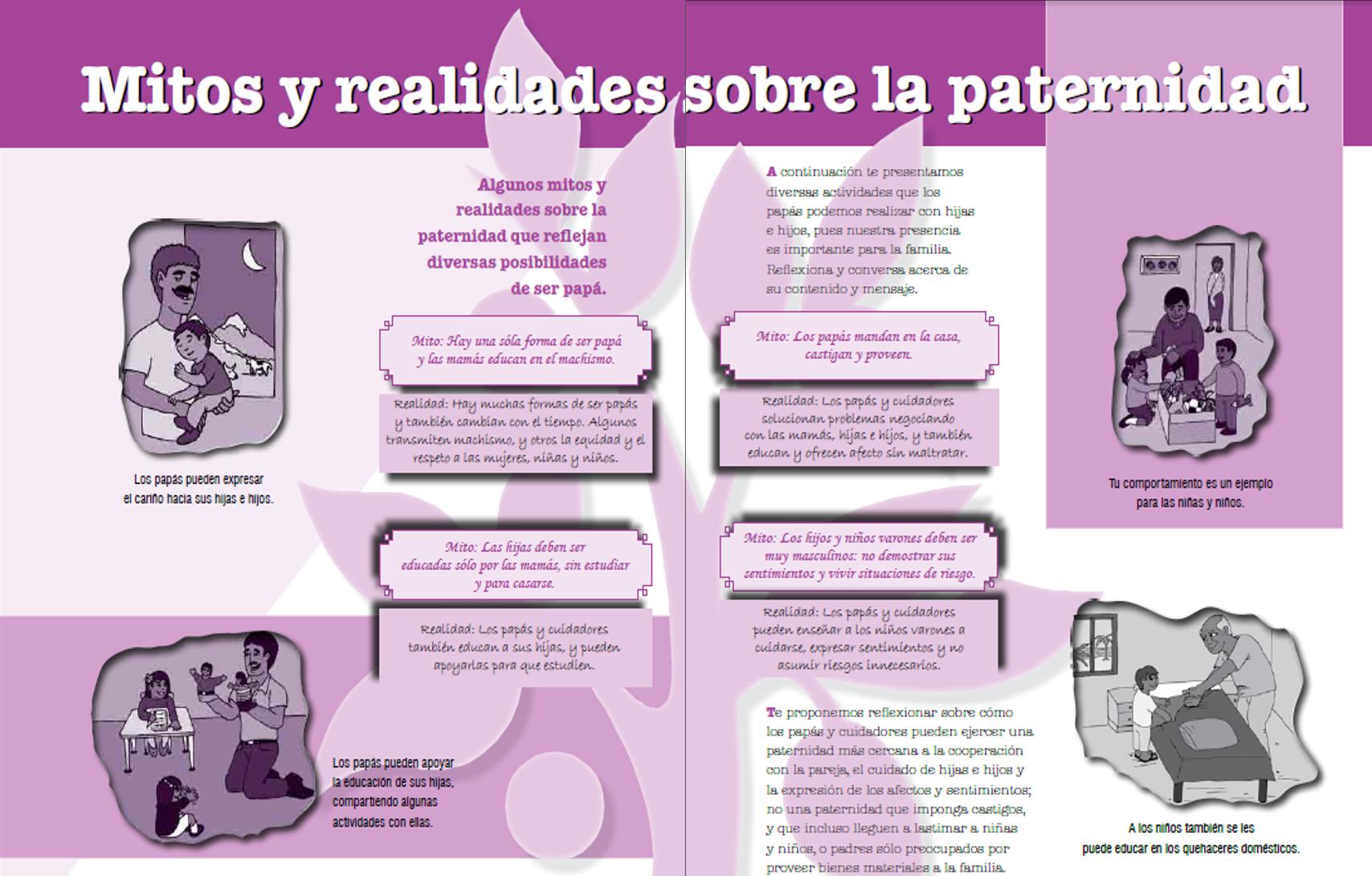 Mitos y realidades paternidad responsable for Paternidad responsable